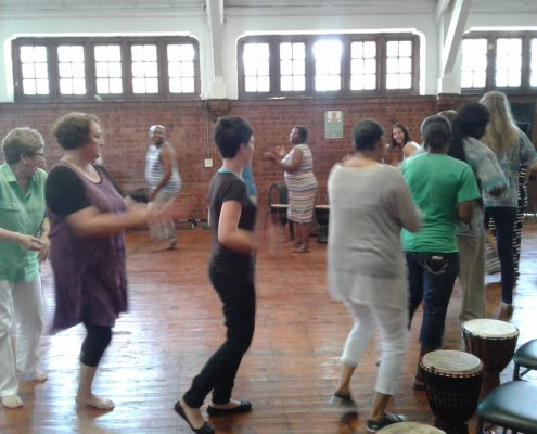 Drumming Workshop with Badisa - Body Dance