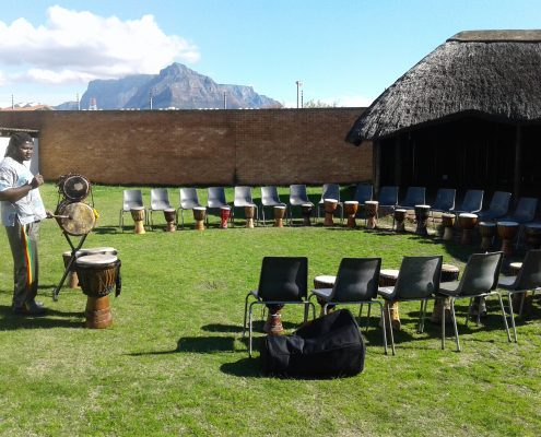 Teambuilding Thokozani Diemersfontein Estate - Juma Drums