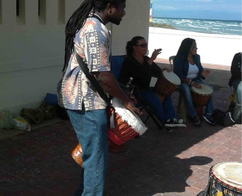 Juma Drums - Drumming Workshop with Dingiswayo Juma