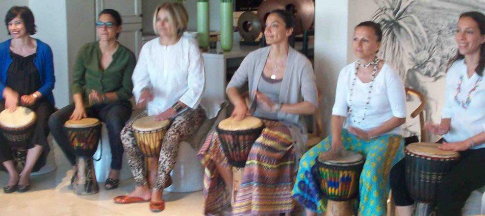 Dingiswayo Juma Drumming Workshop - April 2010