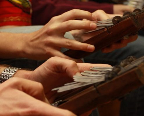 Kalimba Workshop - December 2013