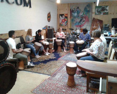 Djembe drumming class Antwerp