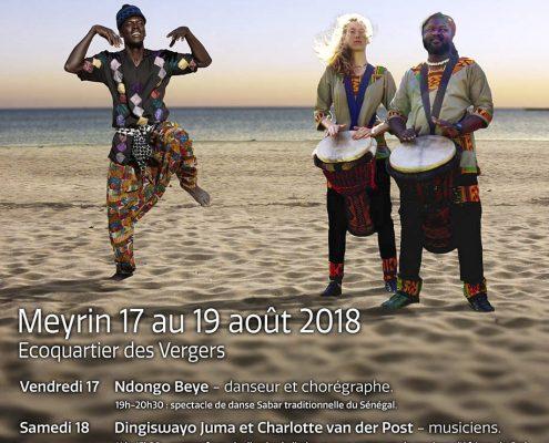 Kalimba and Djembé workshop - Geneva August 2018