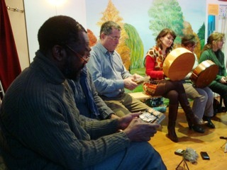 Kalimba workshop in Paris, France
