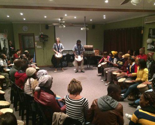 Juma Drums - Drumming Workshop MOT Youth - 30 May 2015