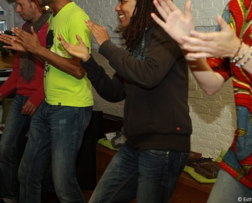 African dance workshop December 2013