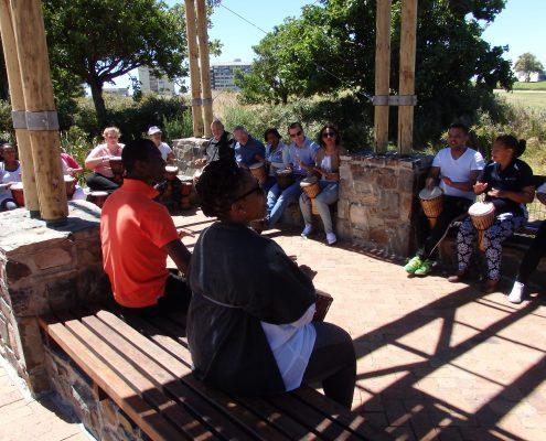 Drumming workshop - outdoors