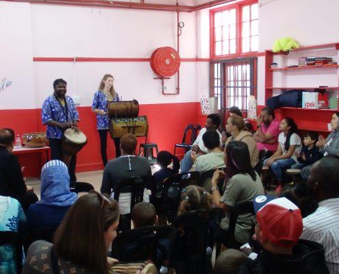 Performance Juma Drums