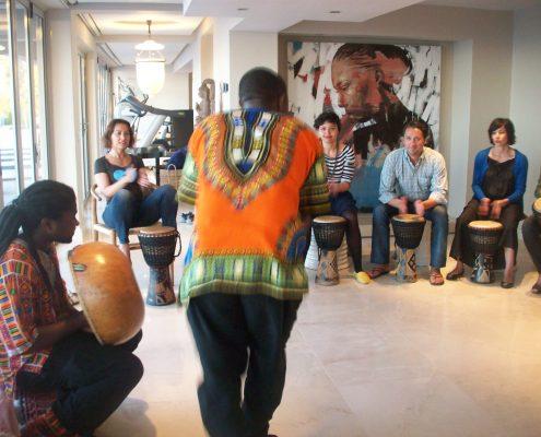 Workshop with Dingiswayo Juma
