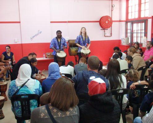 Djembé Workshop - Preschool Event - November 2016